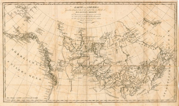 31-World, Polar Maps, Midwest, Alaska and Canada Map By Alexander MacKenzie