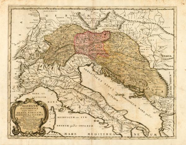 96-Europe, Europe, Austria, Hungary, Romania, Czech Republic & Slovakia, Balkans and Italy Map