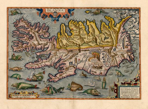 27-World, World, Atlantic Ocean, Europe, Iceland, Balearic Islands, Curiosities and Comic & An