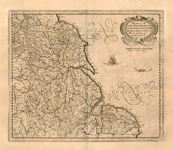 47-Europe, Europe and British Isles Map By Henricus Hondius / Jan Jansson