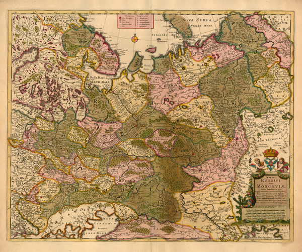 6-Europe, Russia and Ukraine Map By Frederick De Wit / Christopher Browne