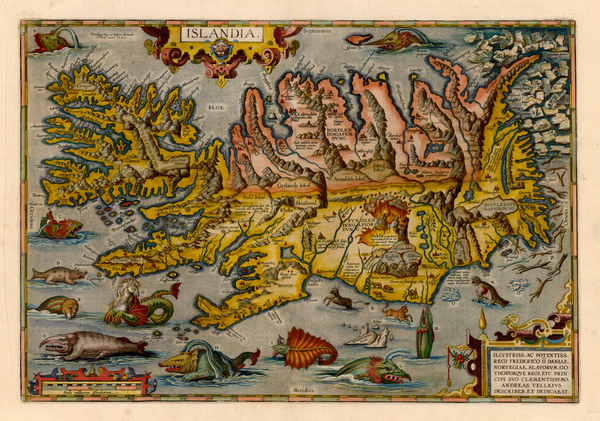32-World, World, Atlantic Ocean, Europe, Iceland, Balearic Islands, Curiosities and Comic & An