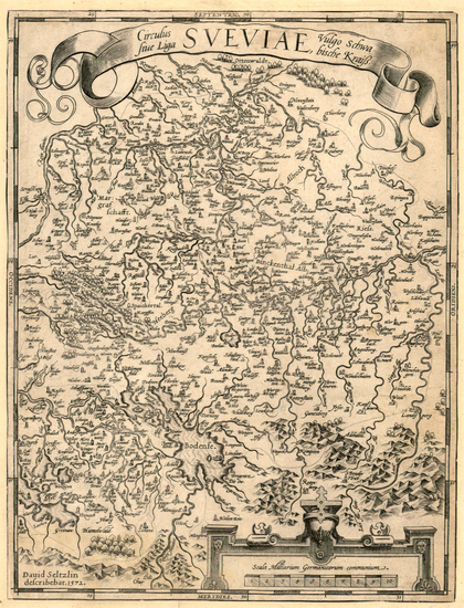 50-Europe and Germany Map By Abraham Ortelius