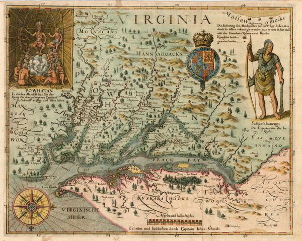 79-Mid-Atlantic, South and Southeast Map By John Smith