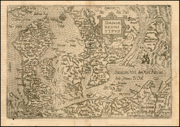 9-Baltic Countries and Scandinavia Map By Janus Bussemacher
