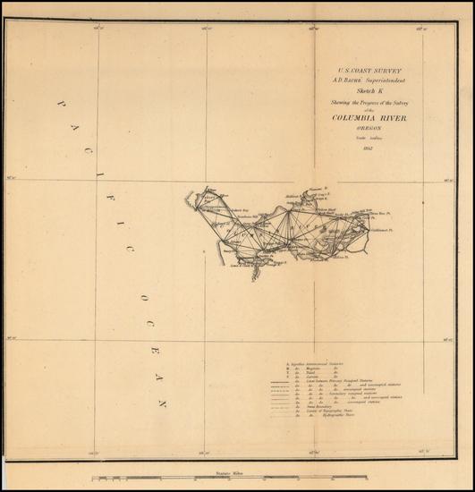 37-Oregon Map By United States Coast Survey