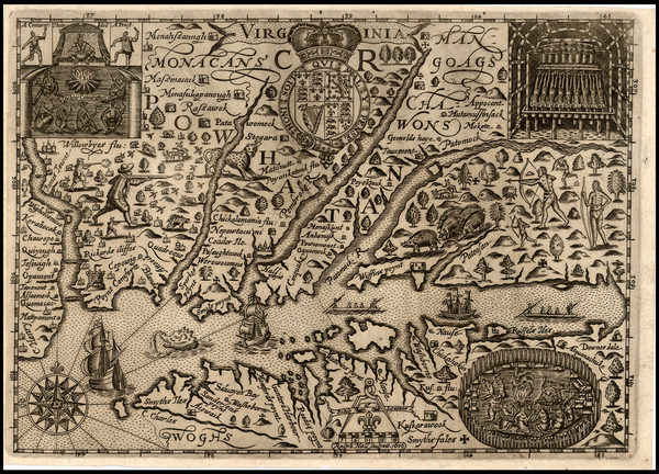 14-Mid-Atlantic and Southeast Map By Ralph Hall