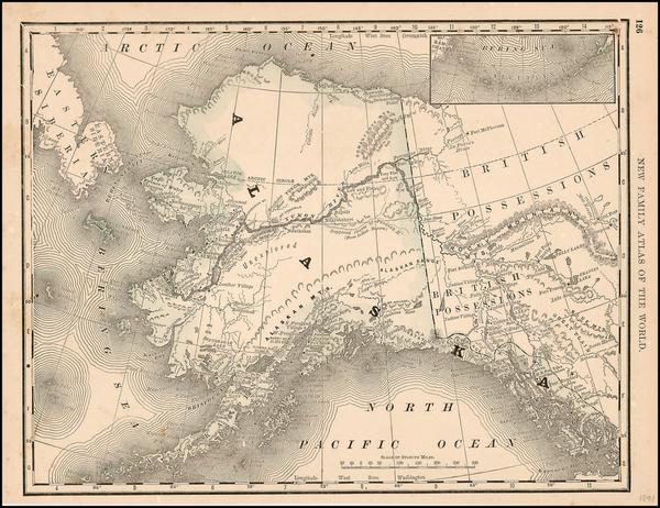 95-Alaska Map By Rand McNally & Company
