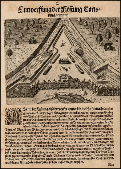 35-Southeast Map By Theodor De Bry