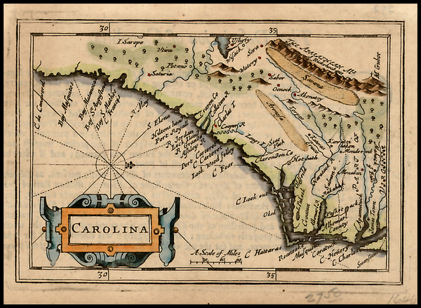 63-Southeast Map By John Speed