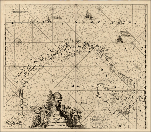 34-Russia and Scandinavia Map By Louis Renard