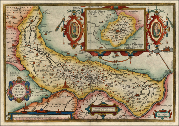39-Europe and Italy Map By Abraham Ortelius