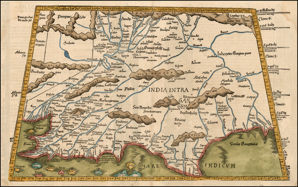 44-Asia, India and Central Asia & Caucasus Map By Lorenz Fries