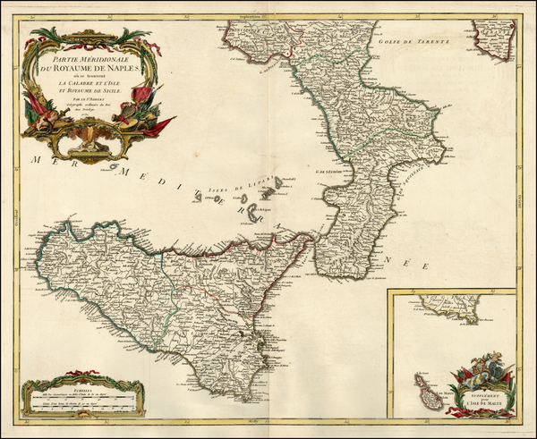 33-Europe, Italy and Balearic Islands Map By Didier Robert de Vaugondy