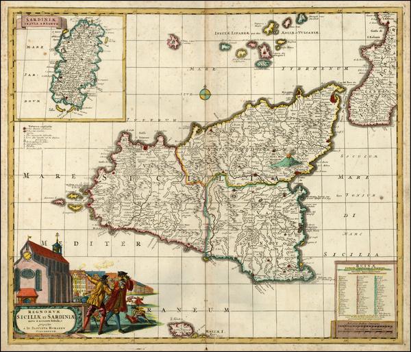 1-Italy, Mediterranean and Balearic Islands Map By David Funcke