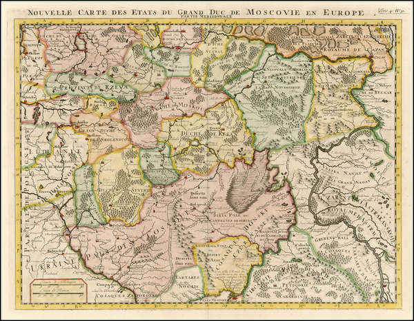 0-Russia and Ukraine Map By Henri Chatelain