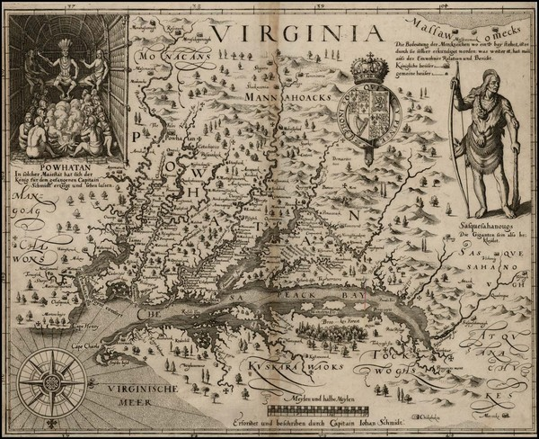 3-Mid-Atlantic, South and Southeast Map By John Smith