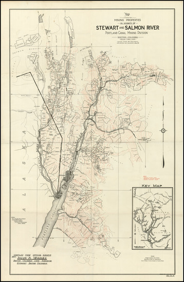 11-Alaska and Canada Map By Dalby Brooks Morkill