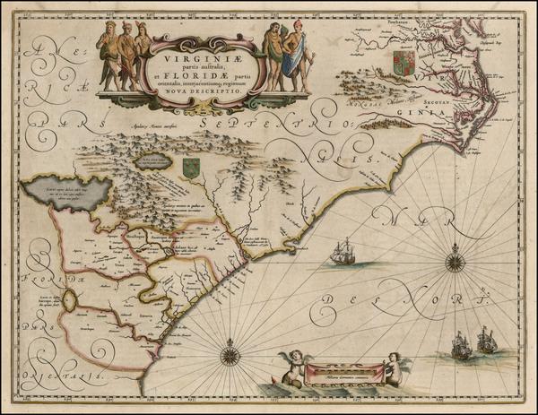 3-Southeast Map By Willem Janszoon Blaeu