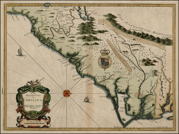 68-Southeast Map By John Speed