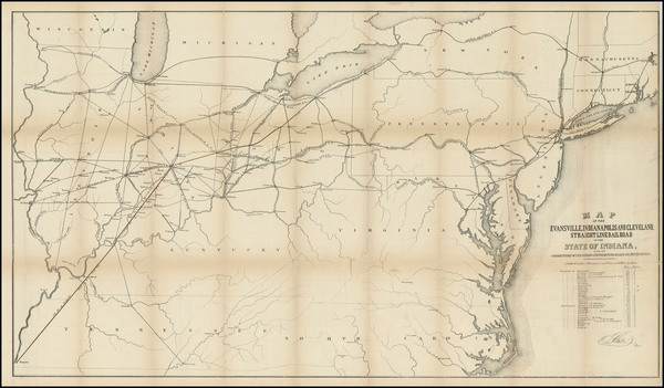 53-United States, Mid-Atlantic and Midwest Map By