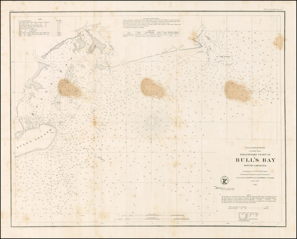30-Southeast Map By United States Coast Survey