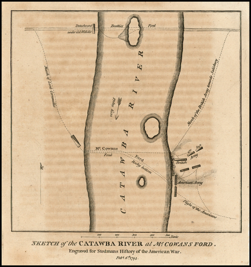 79-Southeast and North Carolina Map By Charles Stedman