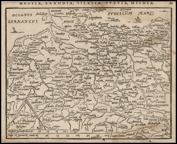 45-Germany, Poland and Baltic Countries Map By Zacharias Heyns