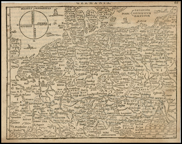 61-Netherlands, Germany, Poland, Hungary, Baltic Countries and Italy Map By Zacharias Heyns