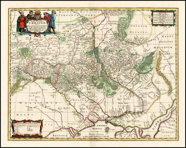 46-Russia and Ukraine Map By Moses Pitt