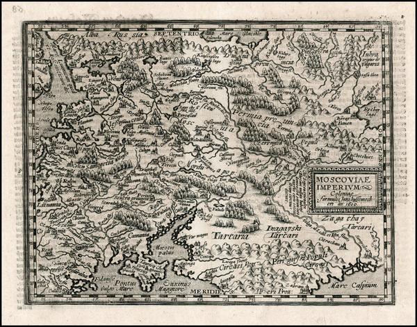 34-Russia and Ukraine Map By Matthias Quad