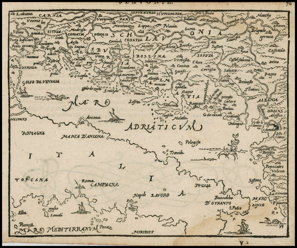58-Balkans and Italy Map By Zacharias Heyns
