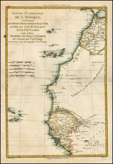 84-Africa, North Africa, West Africa and African Islands, including Madagascar Map By Rigobert Bon