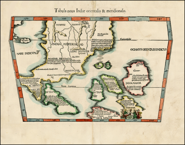 83-India, Southeast Asia and Other Islands Map By Lorenz Fries