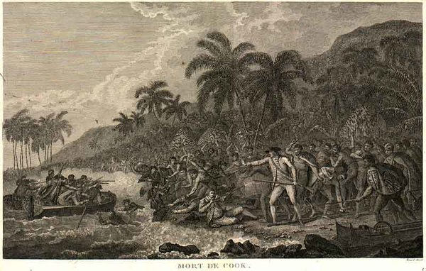83-Hawaii, Australia & Oceania and Hawaii Map By James Cook