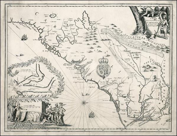 36-Southeast Map By John Ogilby - James Moxon