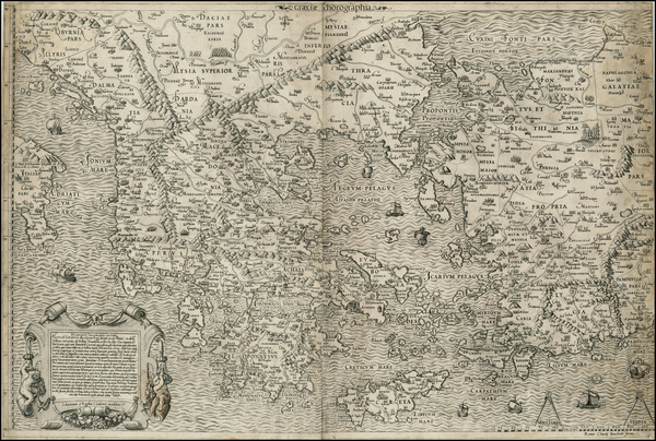 53-Balkans, Greece, Turkey and Balearic Islands Map By Claudio Duchetti / Antonio Salamanca