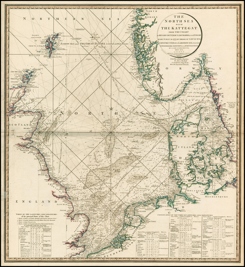 73-British Isles, Netherlands, Germany, Baltic Countries and Scandinavia Map By William Faden