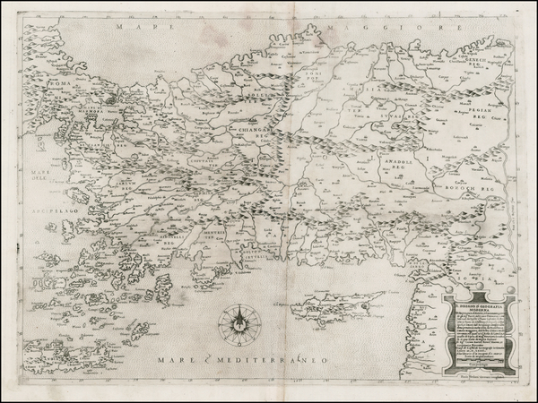 52-Greece, Turkey, Balearic Islands, Other Islands and Turkey & Asia Minor Map By Paolo Forlan