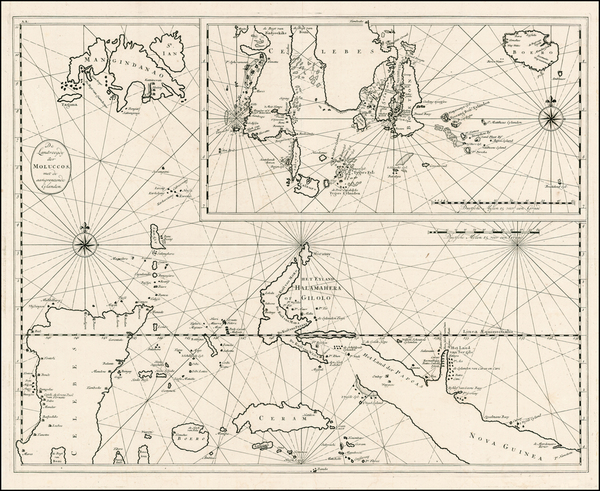 95-Philippines and Indonesia Map By Francois Valentijn