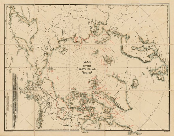 92-Polar Maps, Alaska, Canada, Russia and Scandinavia Map By William Bauman / The Graphic Co.