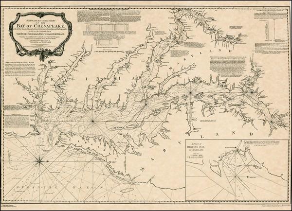 93-Mid-Atlantic and Southeast Map By Robert Sayer  &  John Bennett