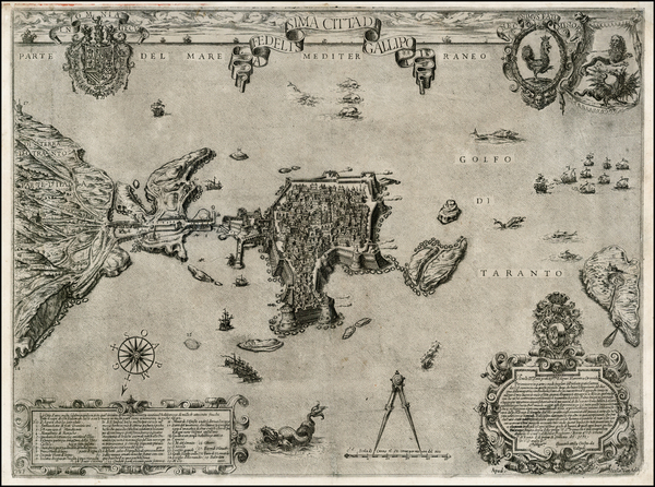 0-Italy, Southern Italy and Other Italian Cities Map By Nicolas Van Aelst