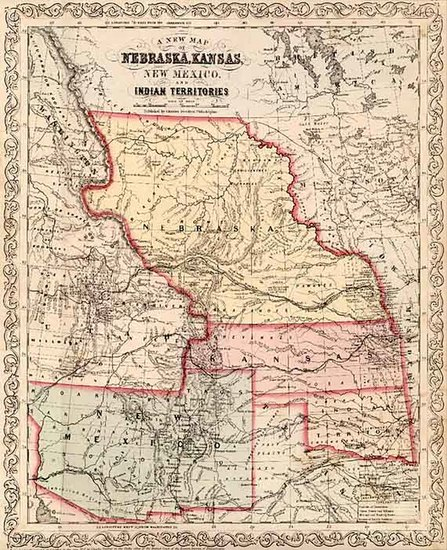 45-Midwest, Plains, Southwest and Rocky Mountains Map By Charles Desilver