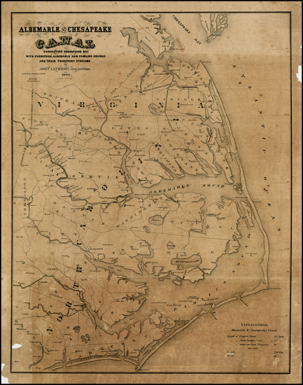7-Southeast Map By Hosford & Ketcham