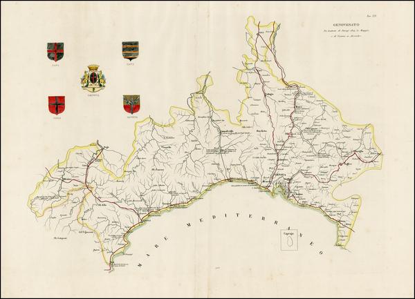 75-Italy Map By Latti