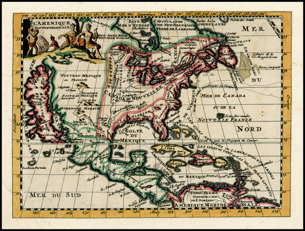 31-North America and California Map By Elias Baeck