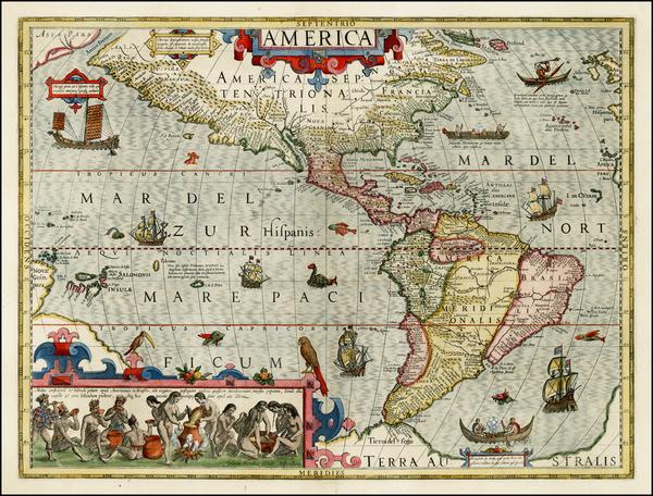 11-Western Hemisphere, South America, Australia & Oceania, Australia, Oceania and America Map