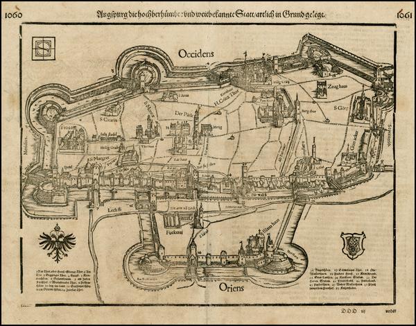 59-Germany Map By Sebastian Munster