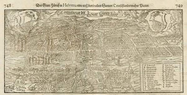 35-Europe and Switzerland Map By Sebastian Munster